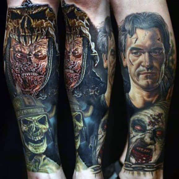 Gentlemens Evil Dead Tattoo Ideas