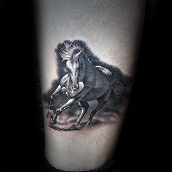 Gentlemens Horse Tattoo Ideas