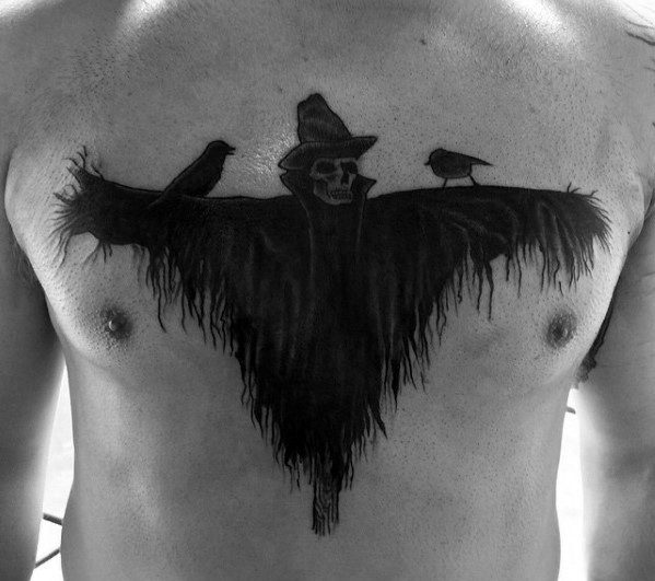 Gentlemens Scarecrow Tattoo Ideas