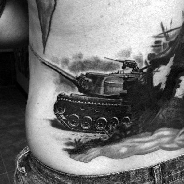 Gentlemens Tank Tattoo Ideas