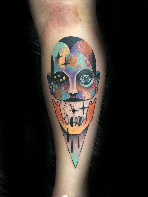 Gentlemens Trippy Tattoo Ideas