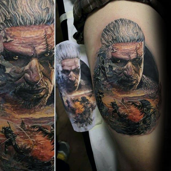 Gentlemens Witcher Tattoo Ideas