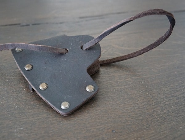 Genuine Leather Sheath Hults Bruk Sarek Splitting Axe