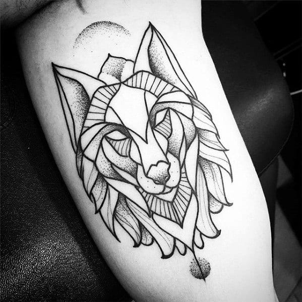 60 Geometric Animal Tattoo Designs For Men , Cool Ink Ideas