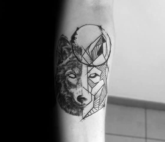Geometric Animal Tattoo Ideas On Guys