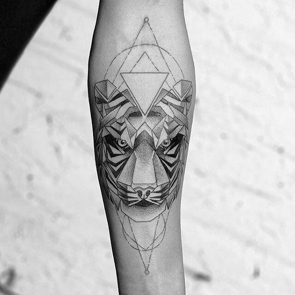 Geometric Animal Tattoos For Gentlemen