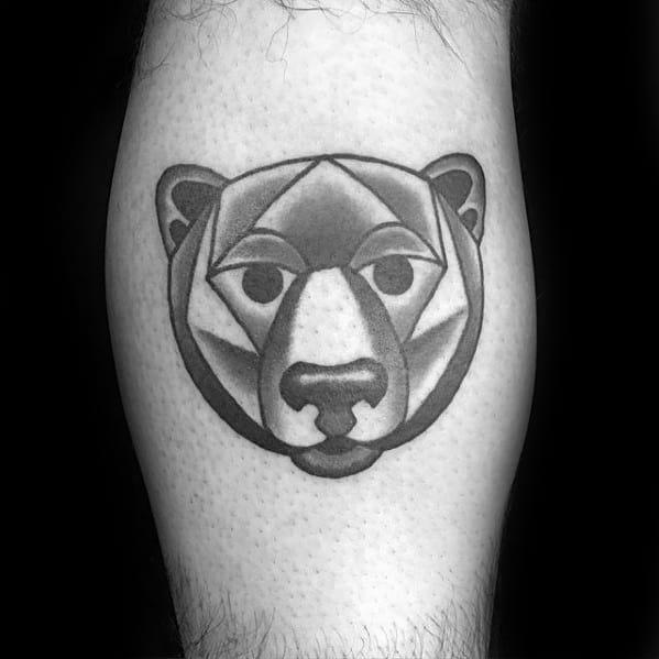 Geometric Animal Tattoos Guys
