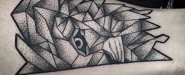 Top 57 Geometric Lion Tattoo Ideas [2021 Inspiration Guide]