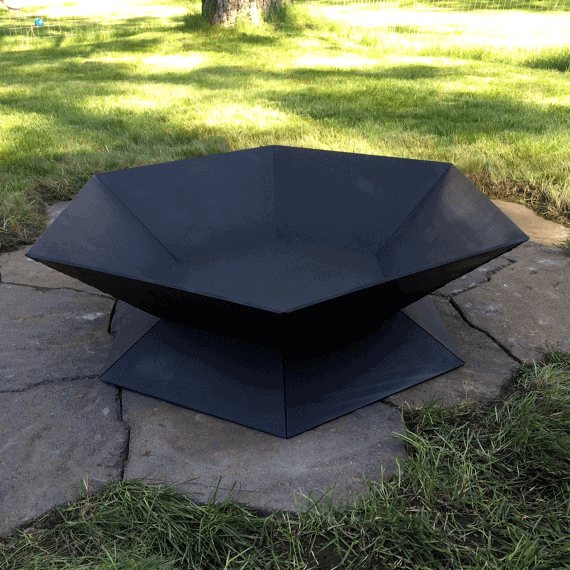 Geometric Unique Metal Fire Pits