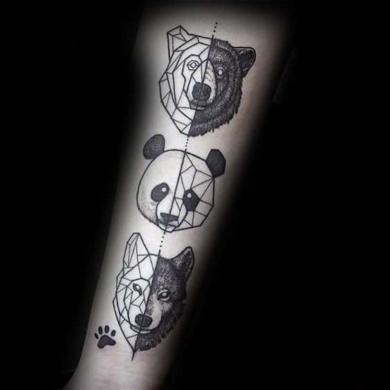 100 Panda Bear Tattoo Designs For Men Manly Ink Ideas