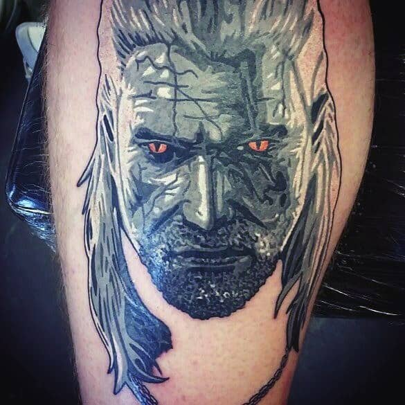 Geralt Tattoos For Men