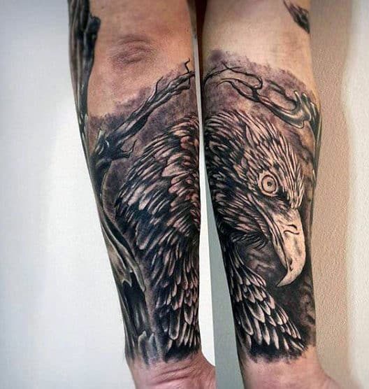 German Eagle Tattoos For Men