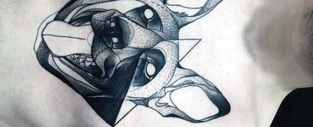 30 German Shepherd Tattoo Designs For Men – Dog Ink Ideas