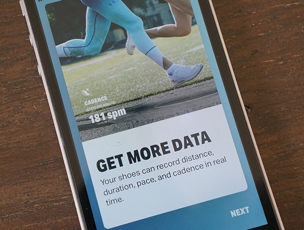 Get More Data Under Armour Hovr Sonic Bluetooth Phone App