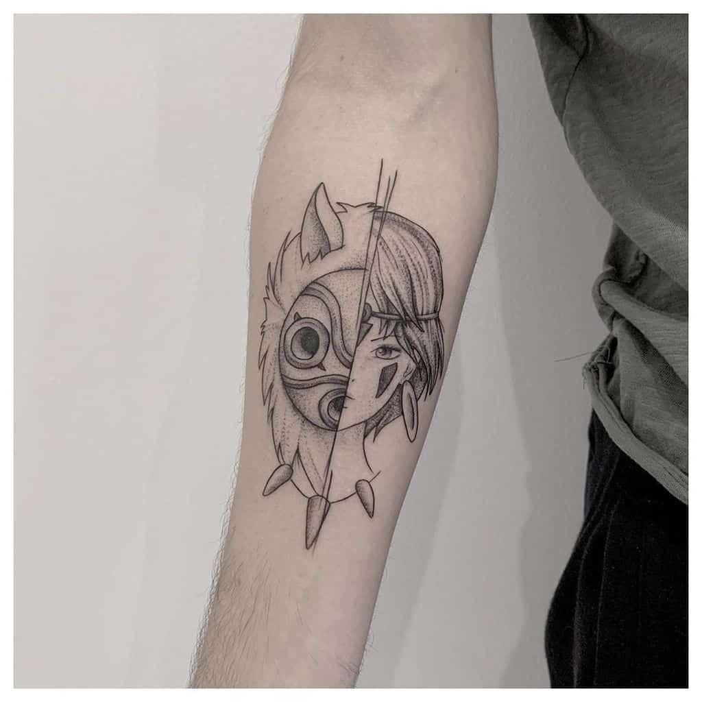 ghibli-princess-mononoke-tattoo-lapetite_encrenoire