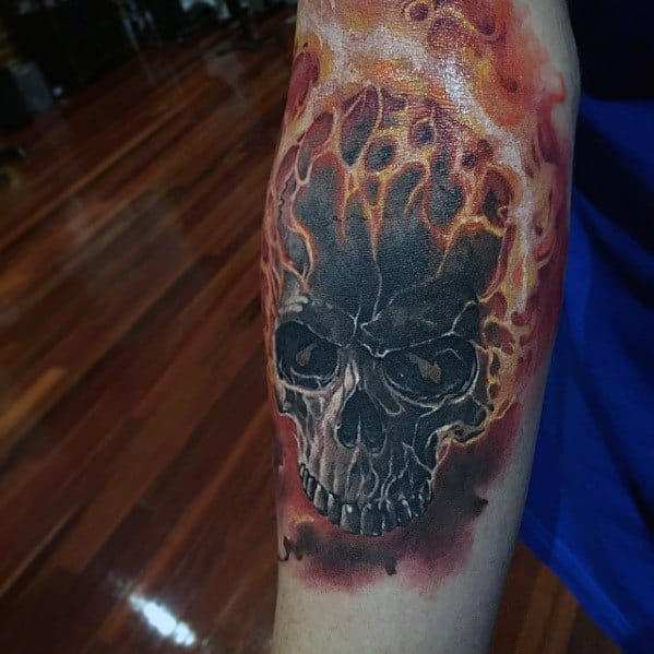 50 Ghost Rider Tattoo Designs For Men - Supernatural ...