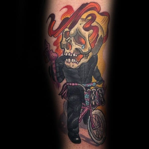 Ghost Rider Tattoos Male