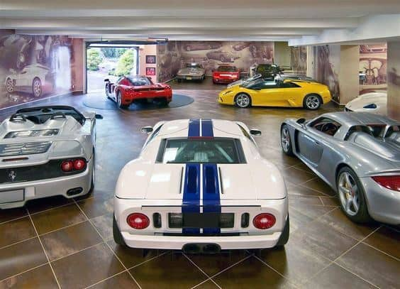 Giant Graphic Prints Wallpaper Impressive Garage Wall Ideas