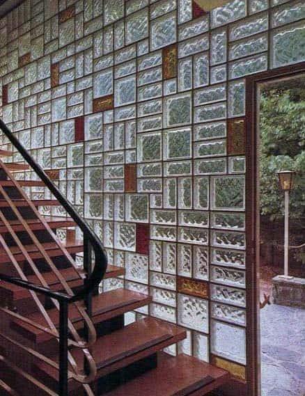 Giant Wall Glass Block Design Idea Inspiration