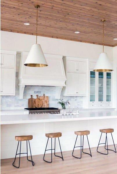 Giant White Dome Ideas Kitchen Island Lighting