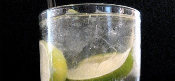 Gin Ricky Cocktail Drinks