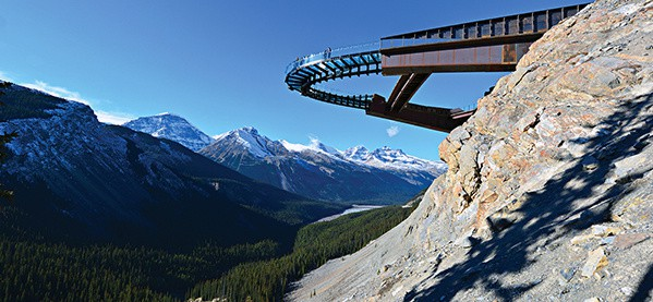 Glacier Skywalk Jasper National Park Canadian Rockies