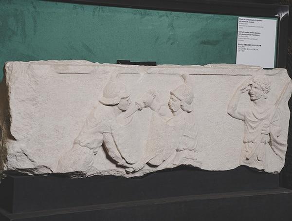 Gladiator Battle Stone Colosseum