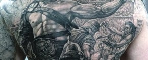 50 Gladiator Tattoo Ideas For Men – Astonishing Amphitheaters And Armor