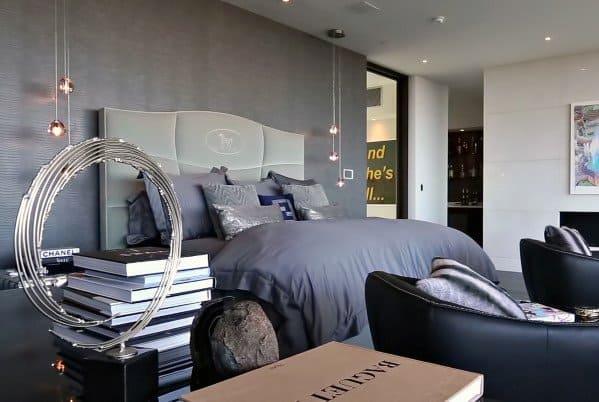 Glass Ball Pendant Luxury Bedroom Lighting Ideas