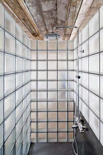 Glass Block Ideas Shower Walls
