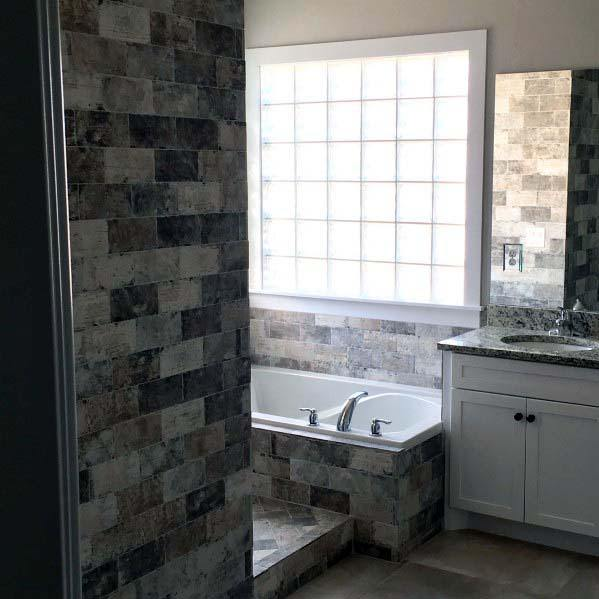 Glass Block Interior Design Bathroom Window