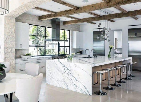 Glass Crystal Ball Pendants Home Interior Kitchen Island Lighting