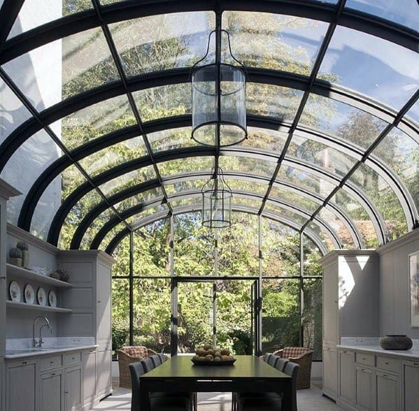 Glass Dome Kitchen Ceiling Ideas