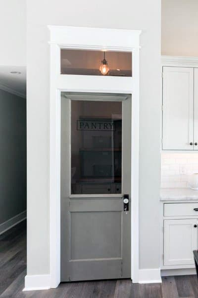 Glass Door Kitchen Pantry Ideas