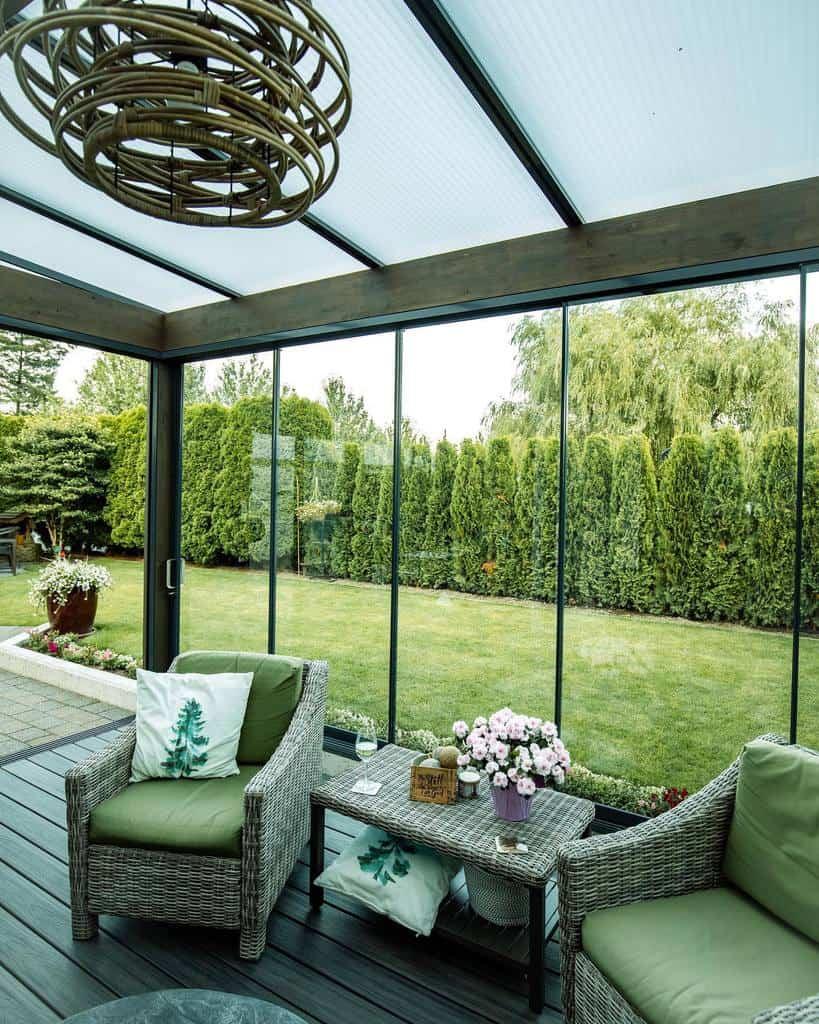 glass enclosed patio ideas lumoncanada