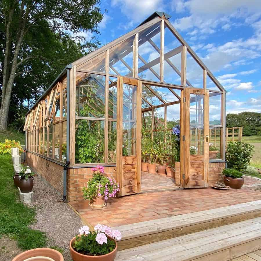 glass greenhouse ideas vanstatradgard