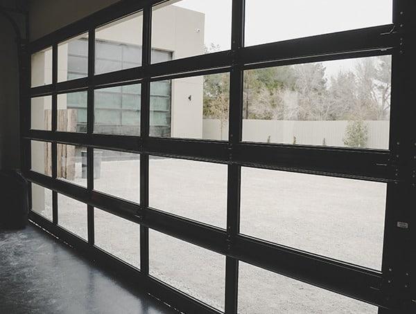 Glass Panel Garage Door Windows New American Remodel 2019