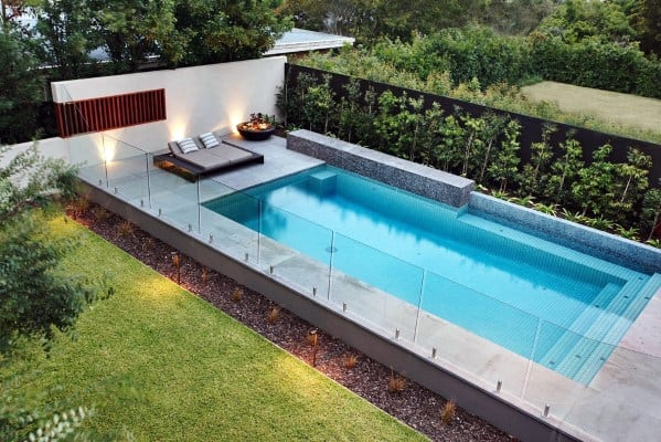 Glass Panels Pool Fence Home Ideas