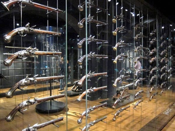 Glass Rack Gun Room Design