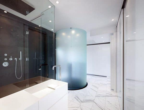 Glass Shower Cool Bathrooms Ideas