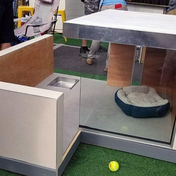 Glass Walls Dog House Ideas