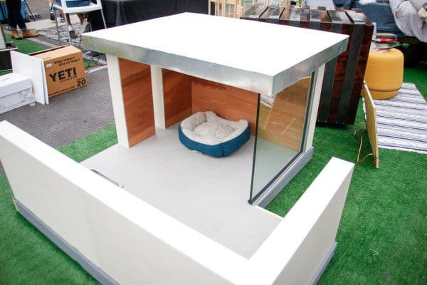 Glass Walls Modern Dog House Designs
