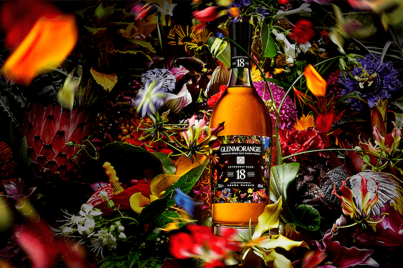 Glenmorangie 18 Years Old Launches Limited Edition Floral Design