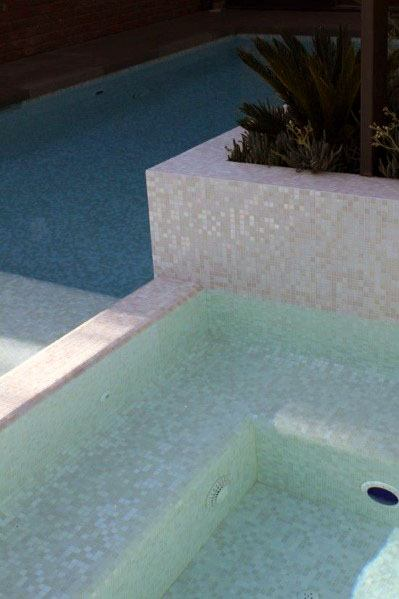Glossy Mosaic White Marble Tile Ideas