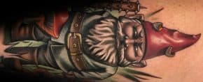 60 Gnome Tattoo Designs For Men – Folklore Ink Ideas