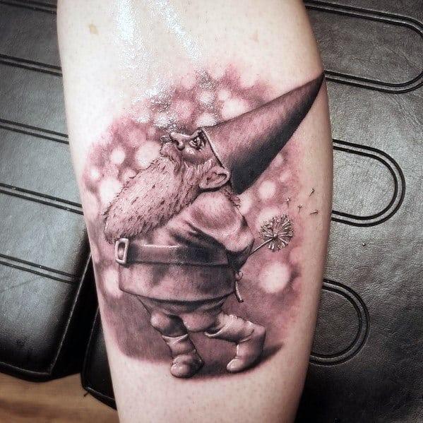 Gnome Tattoo Designs For Men