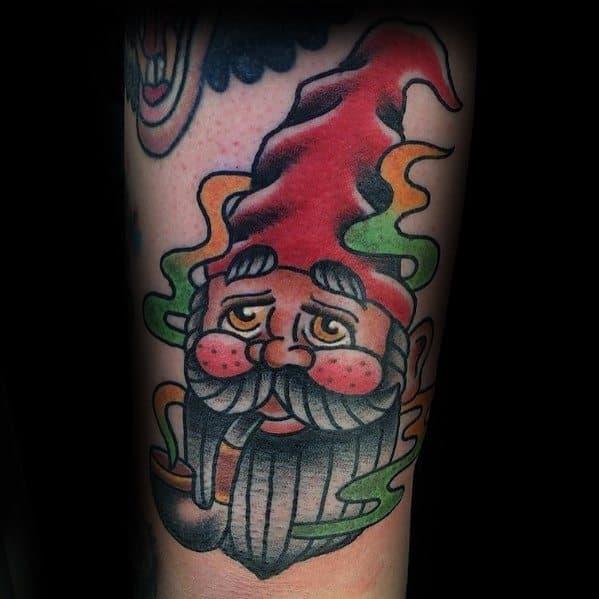 Gnome Tattoo Inspiration For Men
