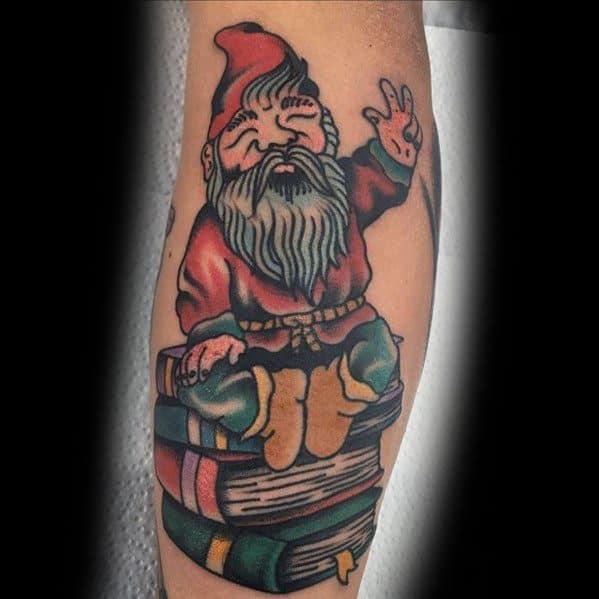 Gnome Tattoos For Men