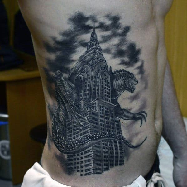 100 Delightful Blackwork Tattoo Designs: Architecture Ink Design Ideas