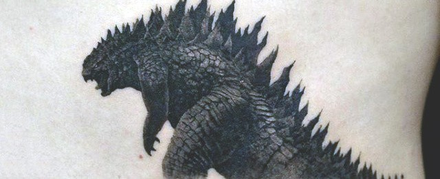 80 Godzilla Tattoo Designs For Men